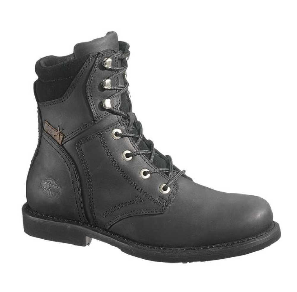 3cb2255d749 Harley-Davidson® Men s Darnel Black Leather Motorcycle Boots