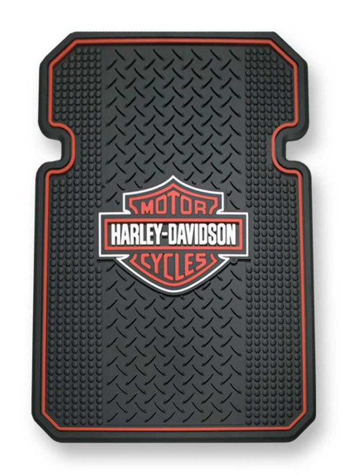 Harley-Davidson Bar & Shield Universal-Fit Molded Front Floor Mats Set of 2 P666 - Wisconsin Harley-Davidson