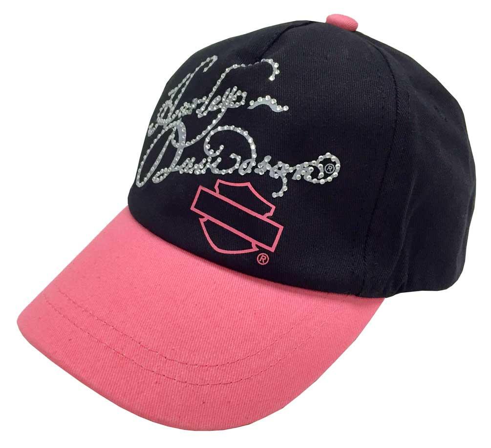 Harley-Davidson® Little Girls  Studded Twill Baseball Cap dd0a653b6aa
