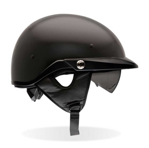 BELL Pit Boss Ultra-Light Motorcycle Helmet w/ Sun Shade Matte Black 2033 - Wisconsin Harley-Davidson