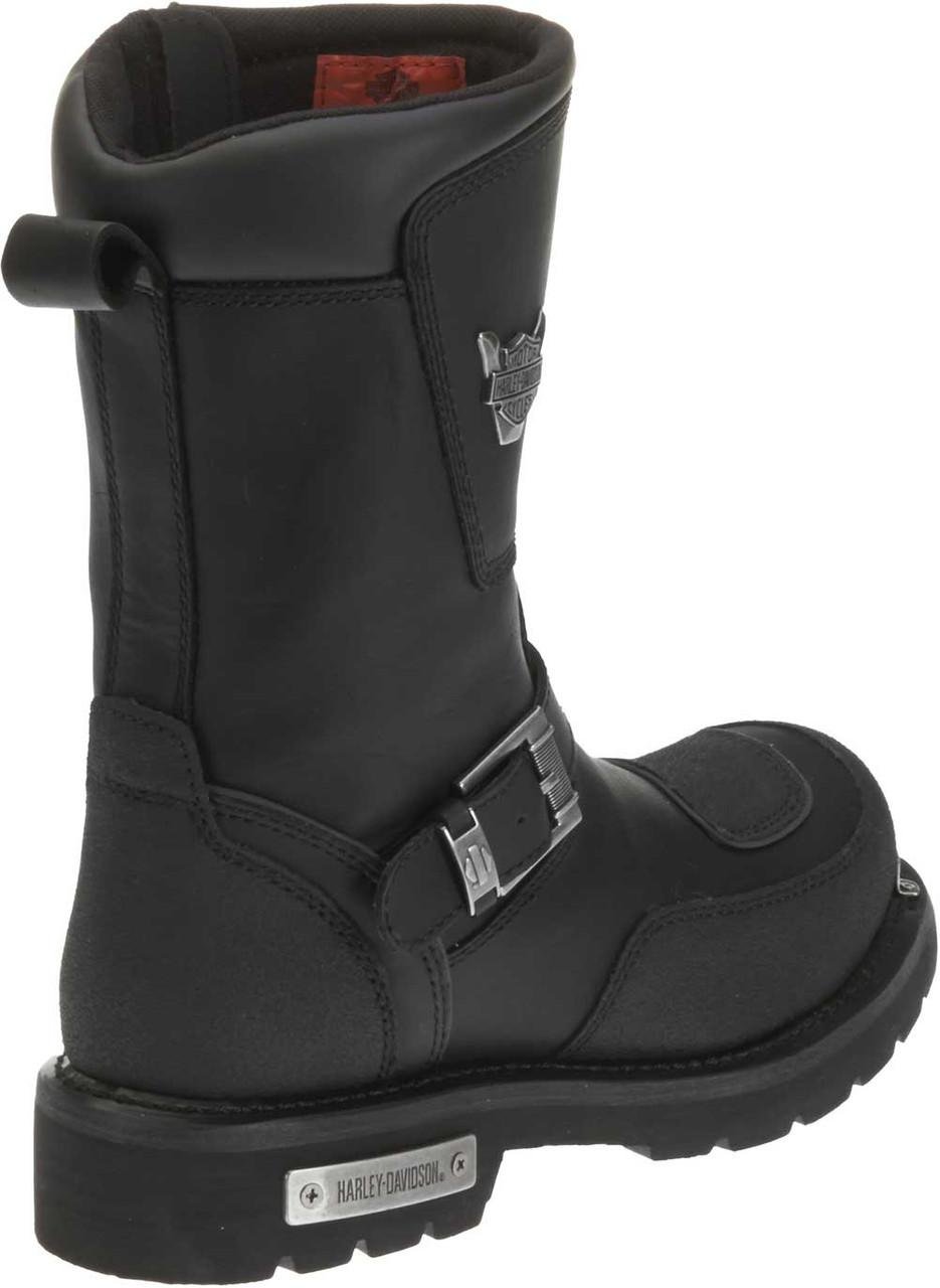87b8068a76c Harley-Davidson® Men's Shift Engineer Zip Black 9-Inch Motorcycle Boots,  D95115