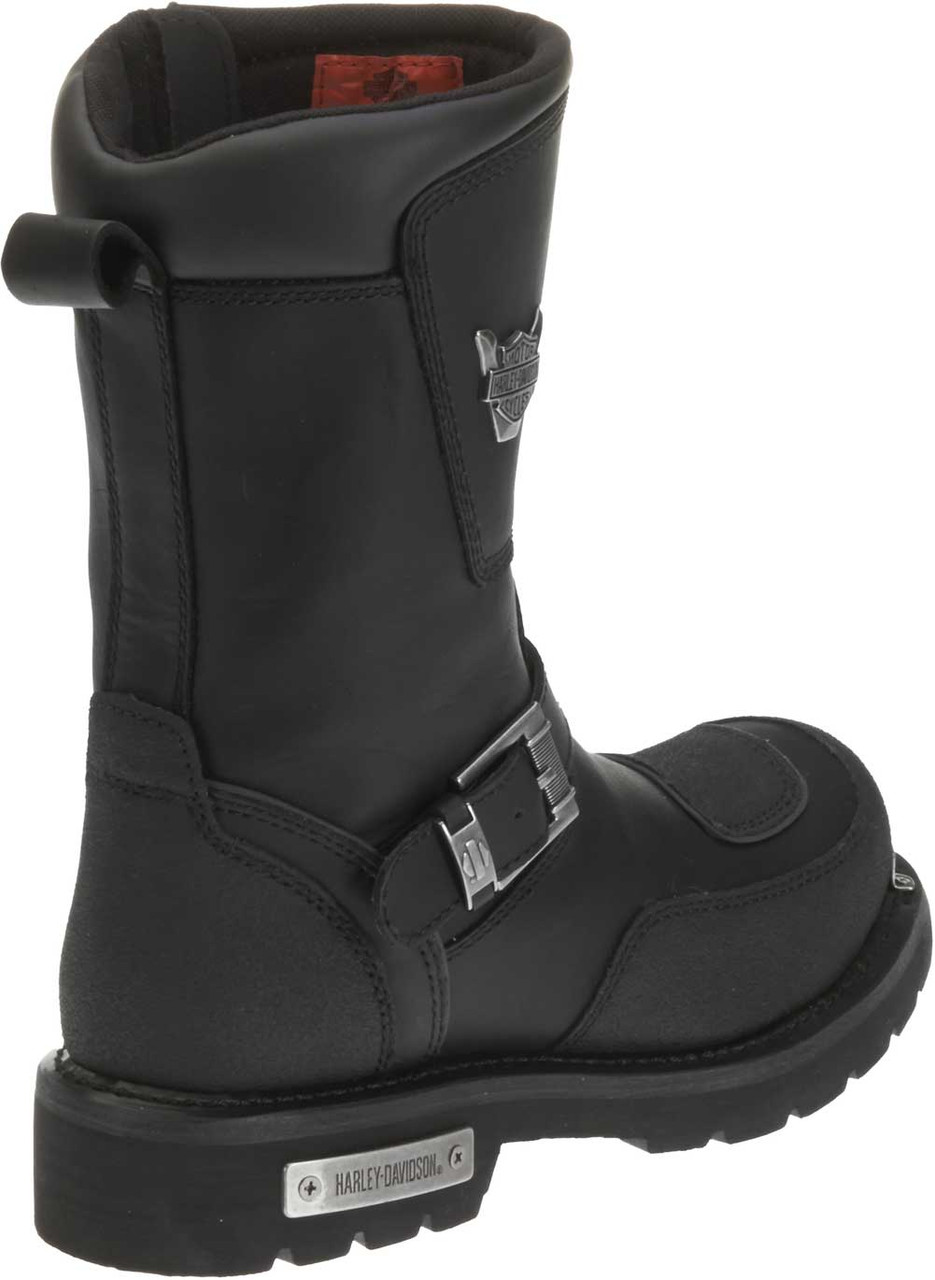 8647677a8f02 Harley-Davidson Men s Shift Engineer Zip Black 9-Inch Motorcycle Boots