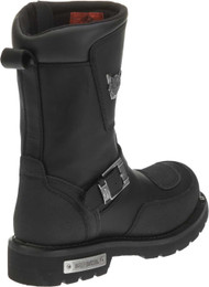 435819f0f3ef6e Harley-Davidson® Men s Shift Engineer Zip Black 9-Inch Motorcycle Boots
