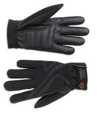 Harley-Davidson Women's Airflow Full-Finger Riding Gloves, Black 98183-07VW - Wisconsin Harley-Davidson
