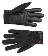 Harley-Davidson Women's Airflow Full-Finger Riding Gloves, Black 98183-07VW - Wisconsin Harley-Davidson