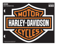 Harley-Davidson Bar & Shield X-Large Decal, X-Large Size Sticker D3028 - Wisconsin Harley-Davidson