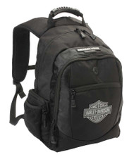 Harley-Davidson Men's Classic Bar & Sheild Backpack, Black BP1932S-BLACK - Wisconsin Harley-Davidson