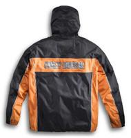 Harley-Davidson Men's Generations Rain Suit Black & Orange 98285-14VM - Wisconsin Harley-Davidson