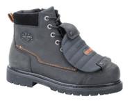Harley-Davidson Men's Jake Steel-Toe 5.5-Inch Black Leather Boots. D95055 - Wisconsin Harley-Davidson