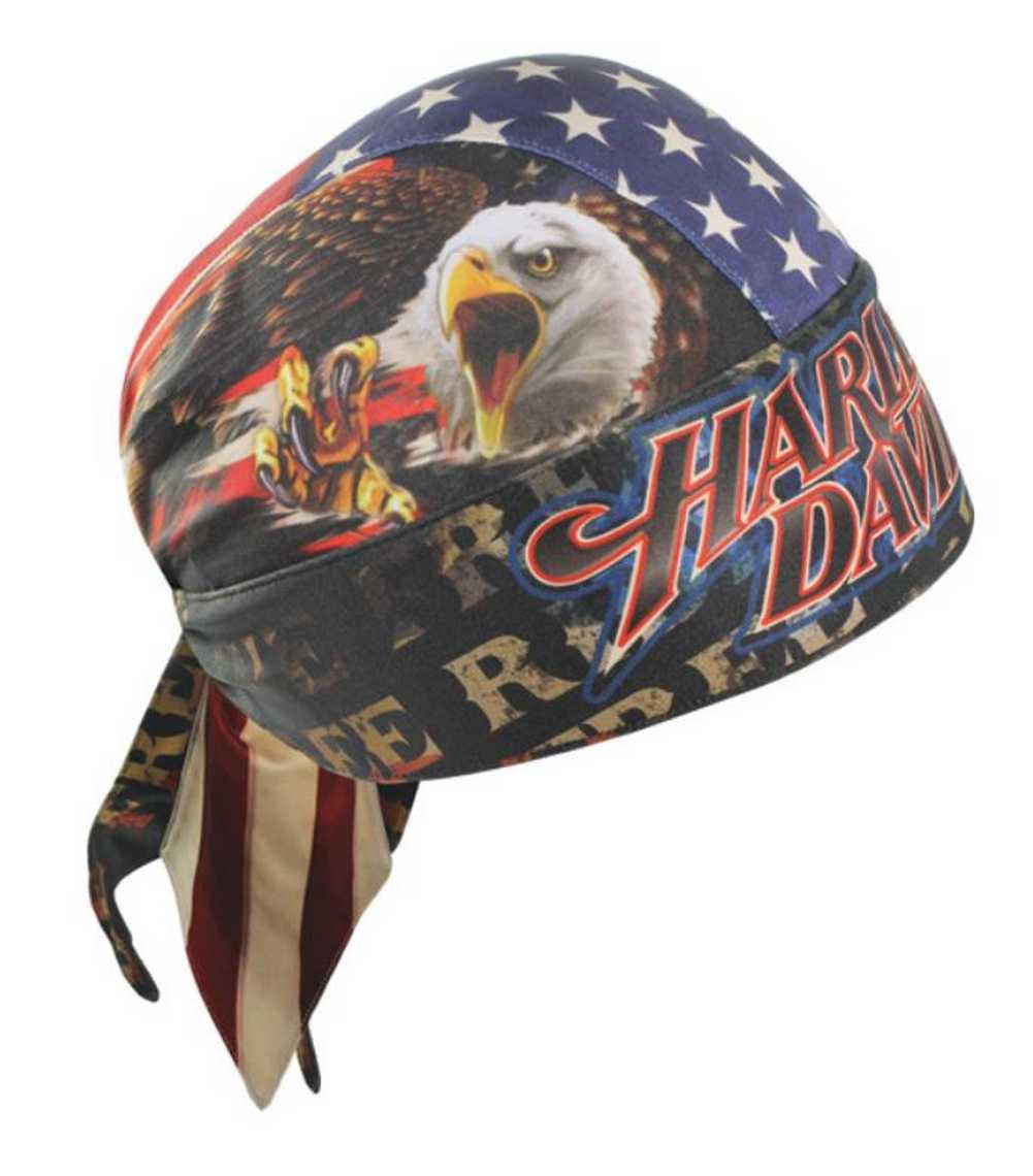 Harley-Davidson Ride Free American Flag Head Wrap Moisture Wicking HW04184  - Wisconsin Harley- f25c590c65a