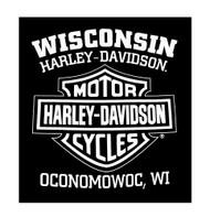 Harley-Davidson Men's T-Shirt, Hand Made Willie G Skull Distressed 30294030 - Wisconsin Harley-Davidson