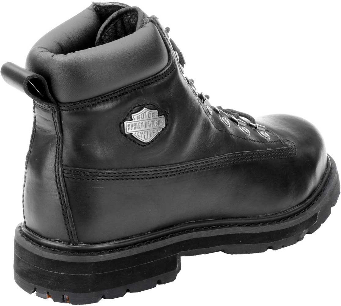 60e31845d22 Harley-Davidson® Men's Drive Motorcycle Steel Toe Black Boots D91144