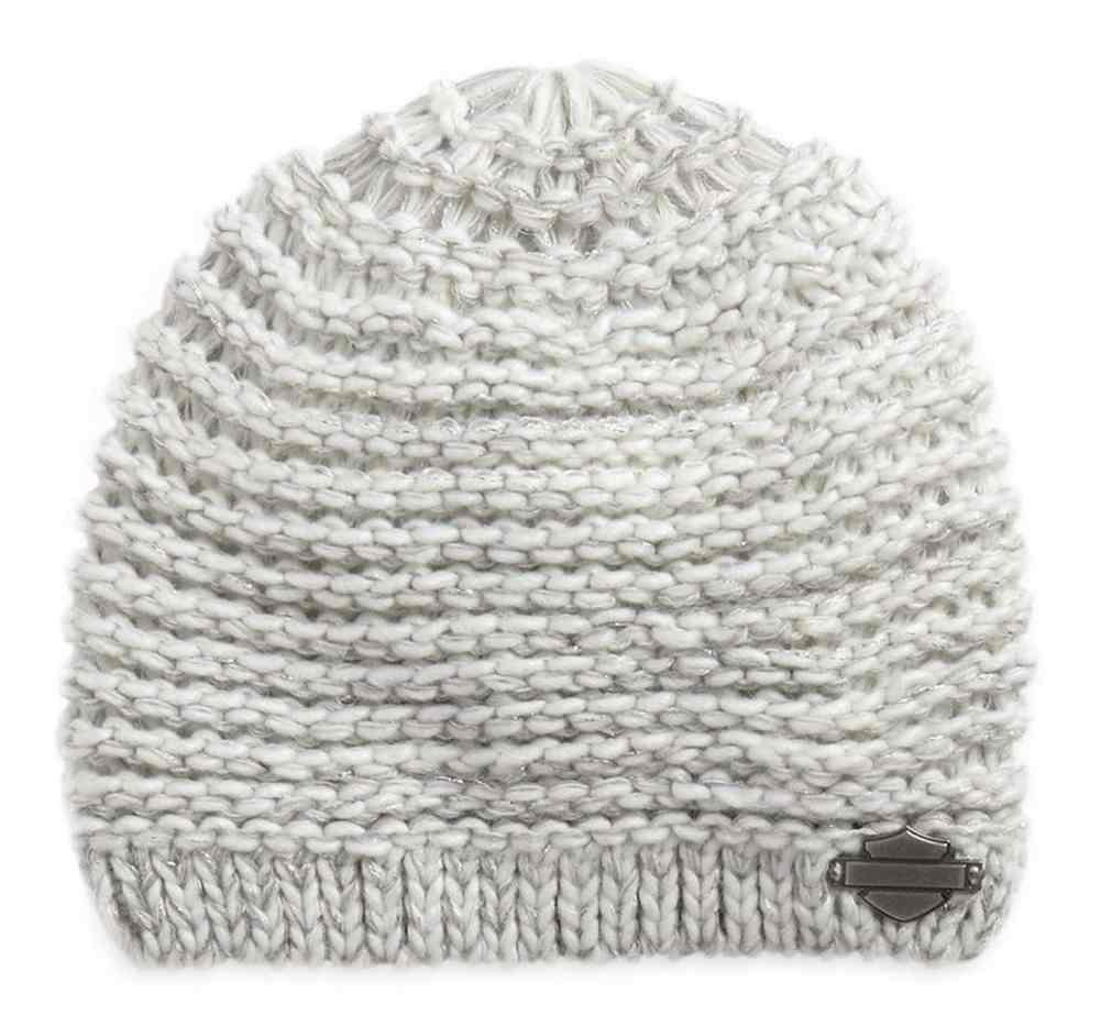 7243ba8af26 Harley-Davidson® Women s Metallic Marled Knit Beanie Hat