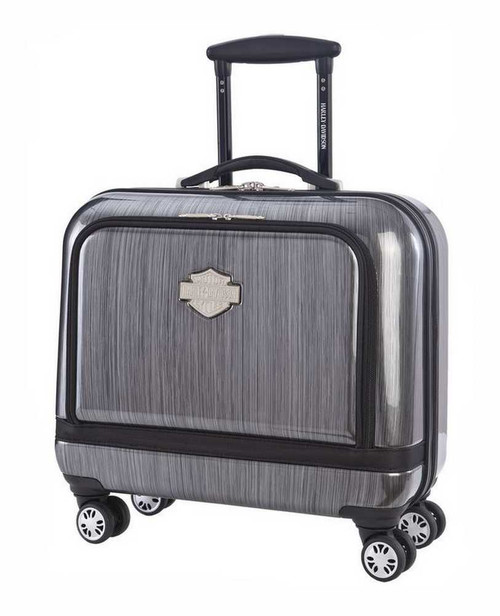 Harley-Davidson 17-in Overnight Carry-On, Light Weight, Steel Gray 99916-STLGRY - Wisconsin Harley-Davidson