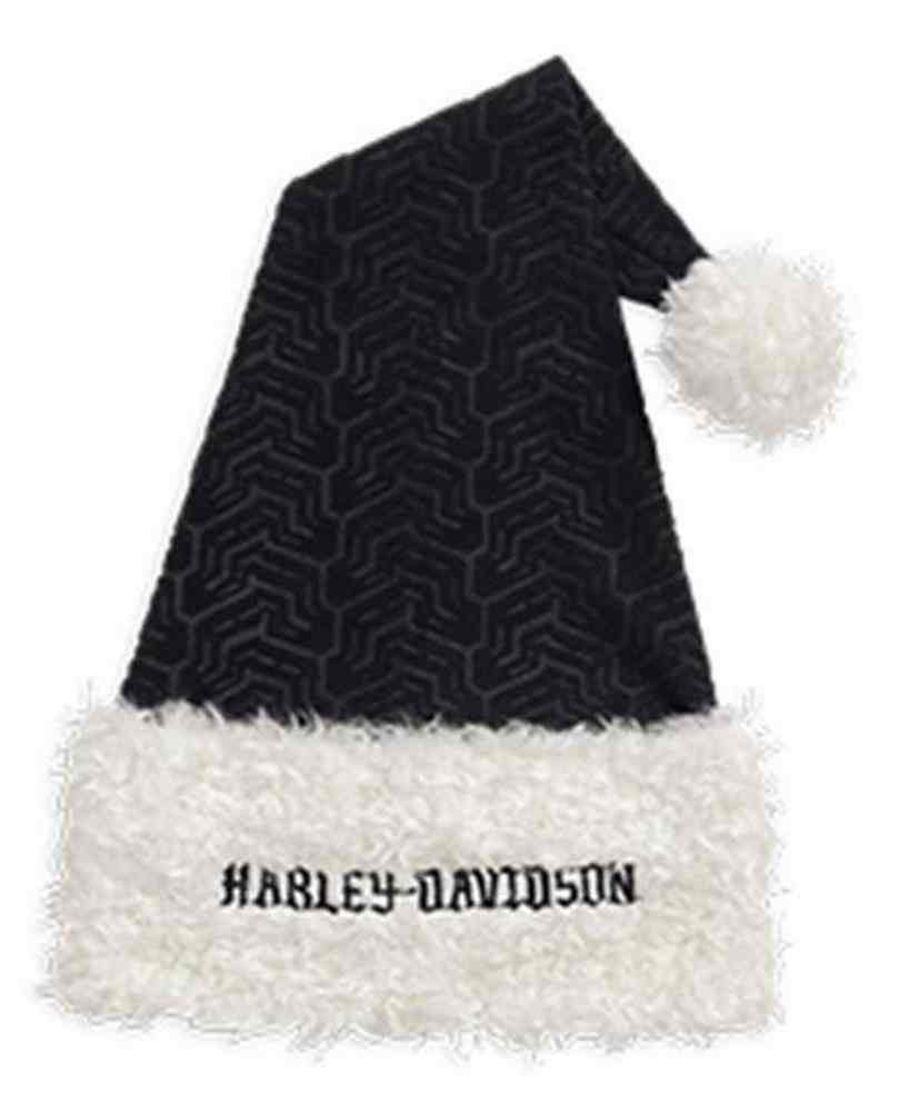 955f4ecd642 Harley-Davidson® Polyester Santa Tire Tread Santa Hat