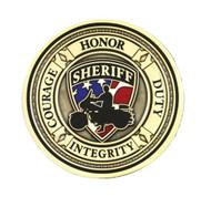 Harley-Davidson Sheriff Service Challenge Coin 1.75'' Gold Color 8002930 - Wisconsin Harley-Davidson
