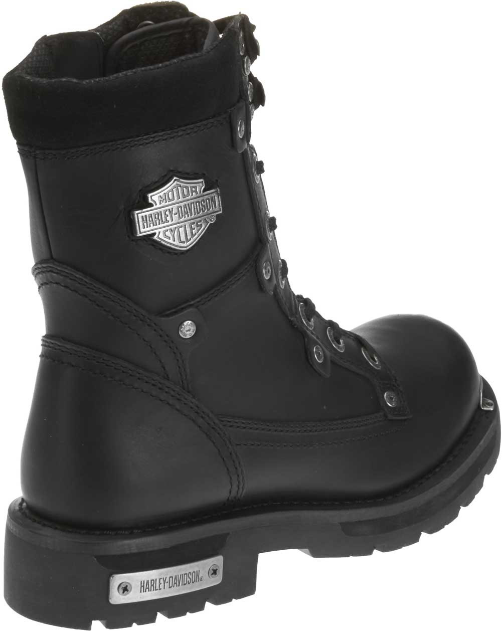 eea4d7bccd0220 Harley-Davidson Men s Camshaft Black Leather 9-Inch Motorcycle Boots D91693  - Largest Selection. See 3 more pictures