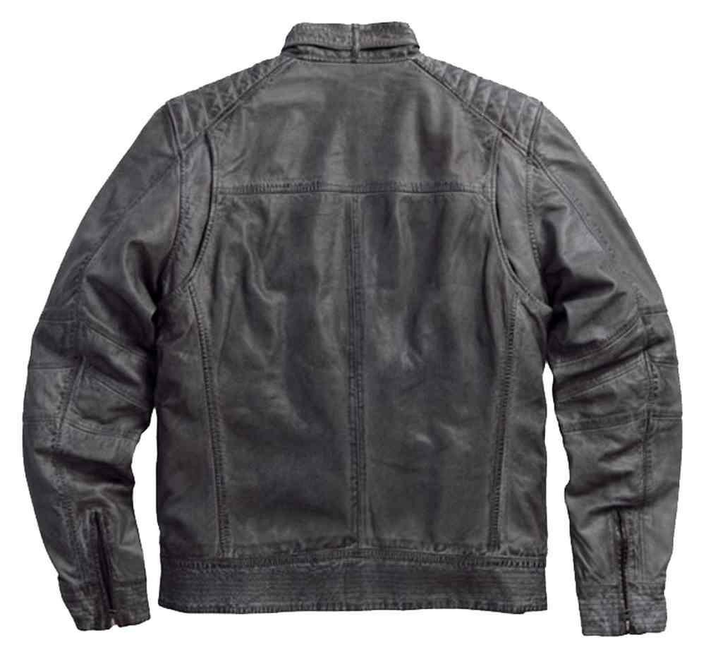 968504f89ab ... Harley-Davidson Men s Black Label Washed Leather Lambskin Jacket. See 1  more picture