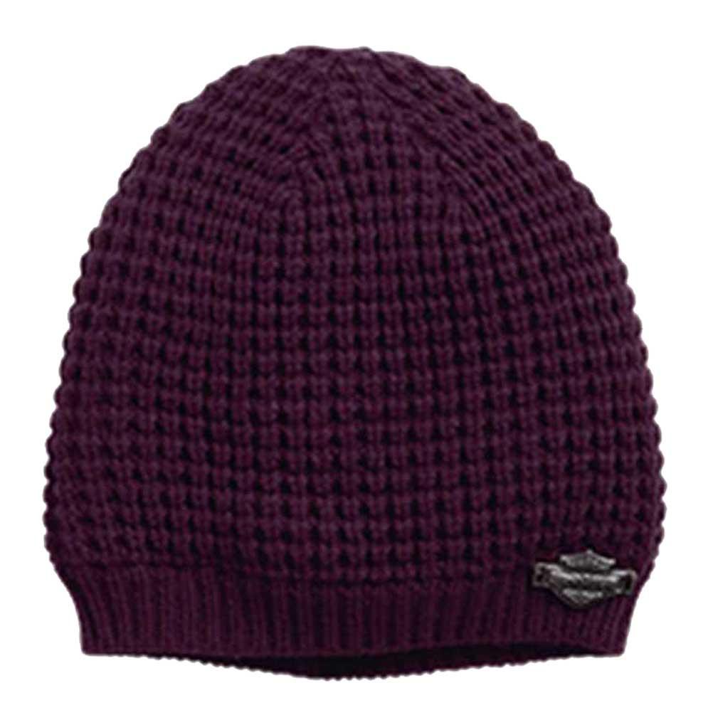 Harley-Davidson® Women s Faux Sherpa Knit Hat Ski Cap 0815f4de3031