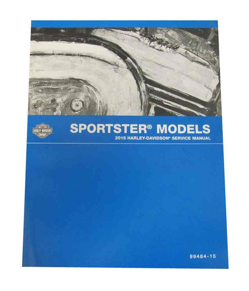 Harley-Davidson 1979 - 1985 XL/XR Sportster Models Service Manual 99484-85 - Wisconsin Harley-Davidson