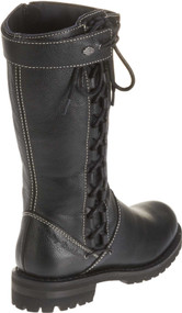 Harley-Davidson Women's Melia Welted 10-Inch Motorcycle Boots, Side Lace D85054 - Wisconsin Harley-Davidson