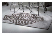 Harley-Davidson Bar & Shield Small Area Rug, Handmade Tufted Rug HDL-19503 - Wisconsin Harley-Davidson