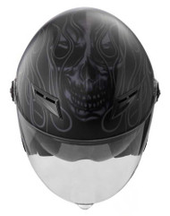 Harley-Davidson Men's Splendor Sun Shield M01 3/4 Helmet, Matte Black 98209-16VM - Wisconsin Harley-Davidson