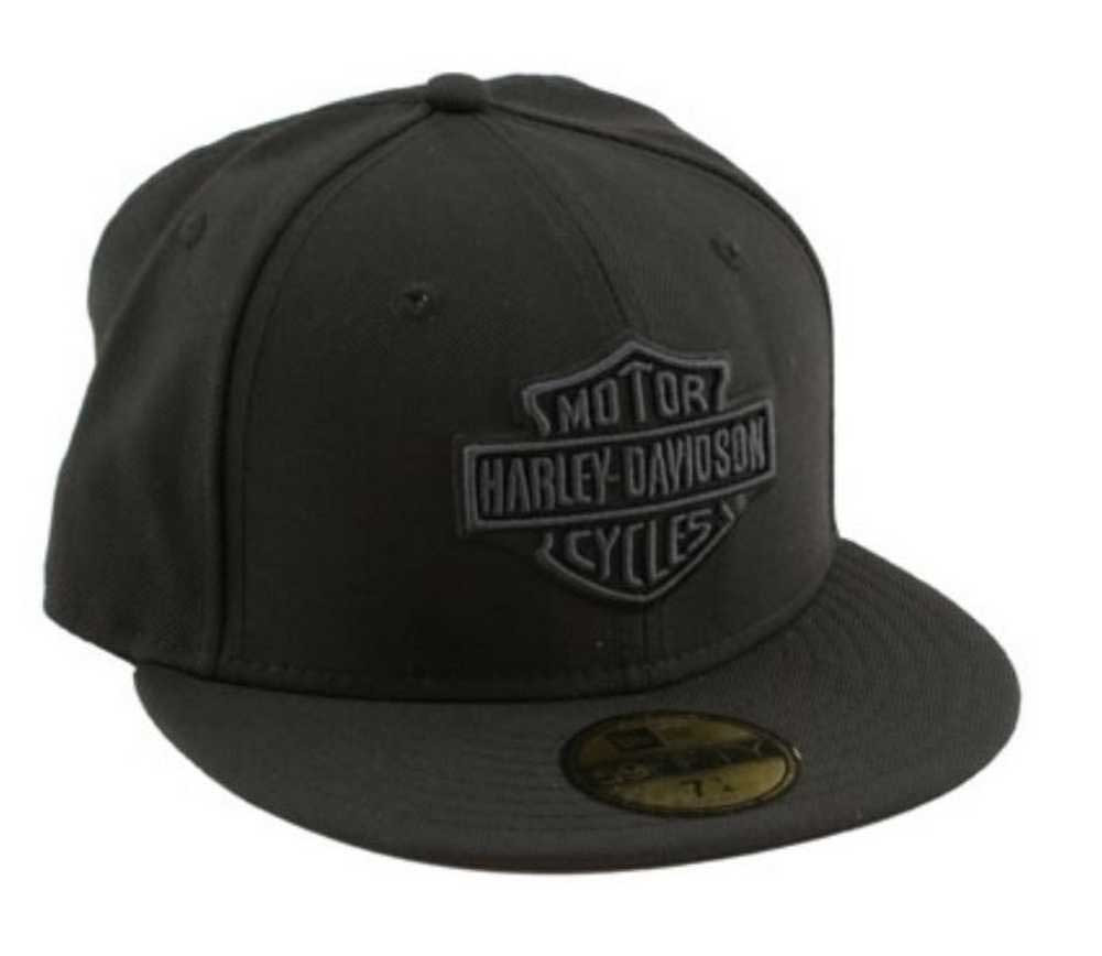 Harley-Davidson® Men s Tonal Bar   Shield Logo 59FIFTY Baseball Cap ... 098495630b53