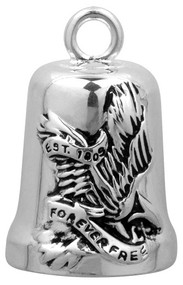 Harley-Davidson Freedom Eagle Bar & Shield Ride Bell HRB010 - Wisconsin Harley-Davidson