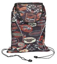 Harley-Davidson Vintage Collection Sling Backpack, Lightweight, Black 99667-VIN - Wisconsin Harley-Davidson