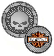 Harley-Davidson Willie G. Skull Bar & Shield Challenge Coin 1.75'' 8002961 - Wisconsin Harley-Davidson