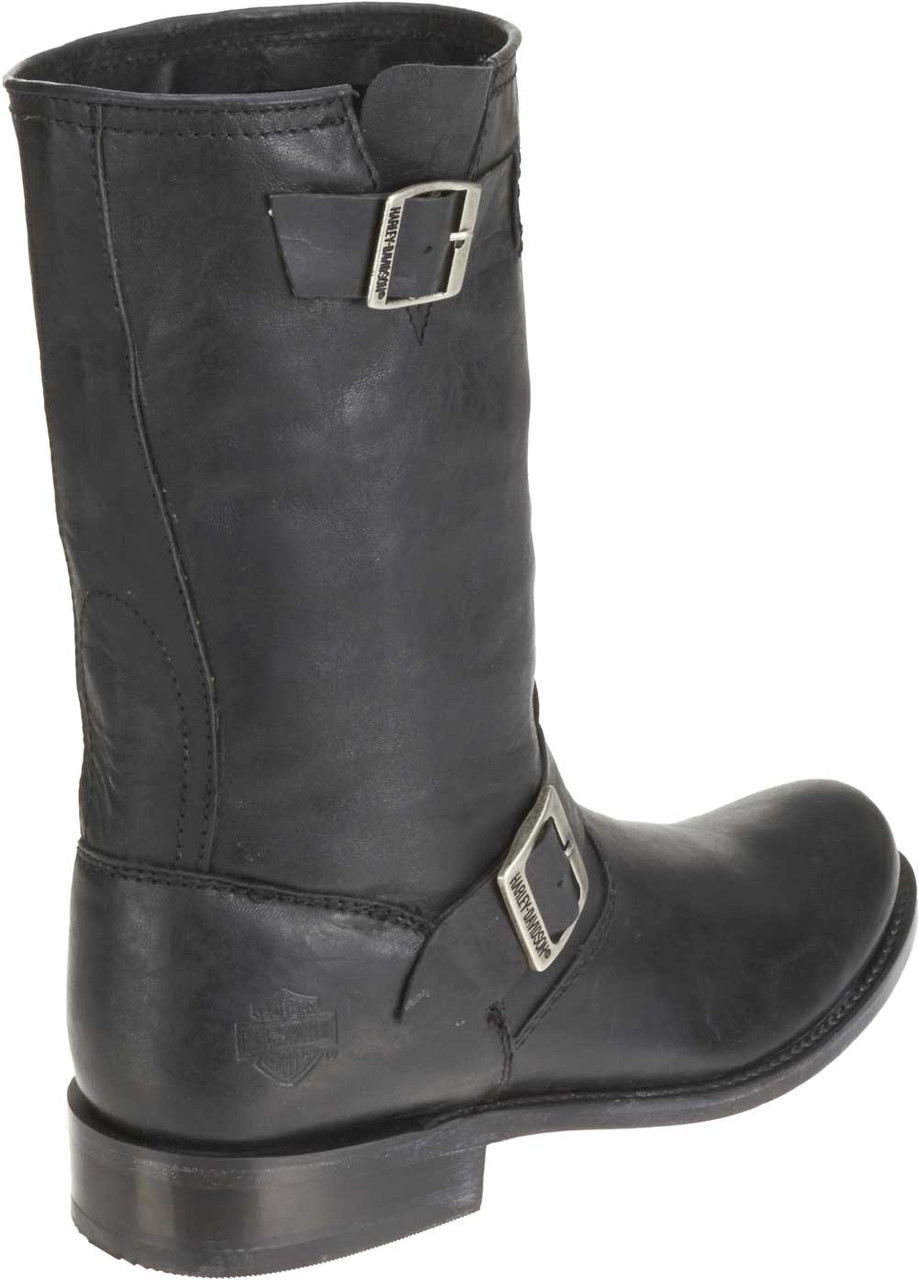 d9a7f66efba Harley-Davidson® Men's Lawson 10-Inch Black or Tan Leather Boots. D92106  D92107