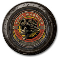 Harley-Davidson 23 in Round 2 Piece Tire Skull Wooden Sign CU118A-AD-RW-HARL - Wisconsin Harley-Davidson