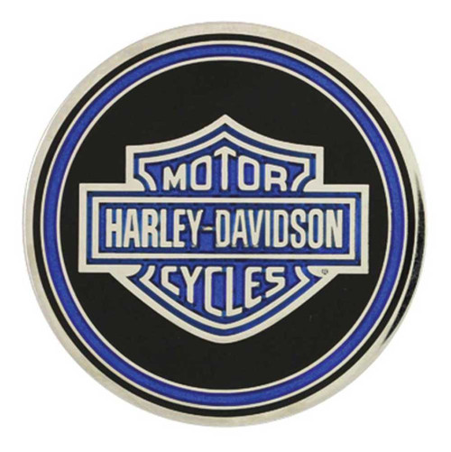 Harley-Davidson Challenge Coin, Police Trans with Bar & Shield Logo 8003111 - Wisconsin Harley-Davidson