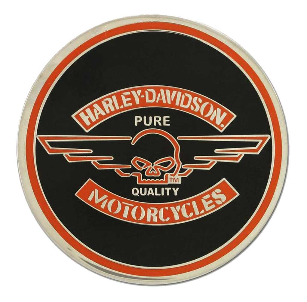 bfbf31e8 Harley-Davidson Challenge Coin, Winged Willie G Skull Performance Coin  8003043 - Wisconsin Harley