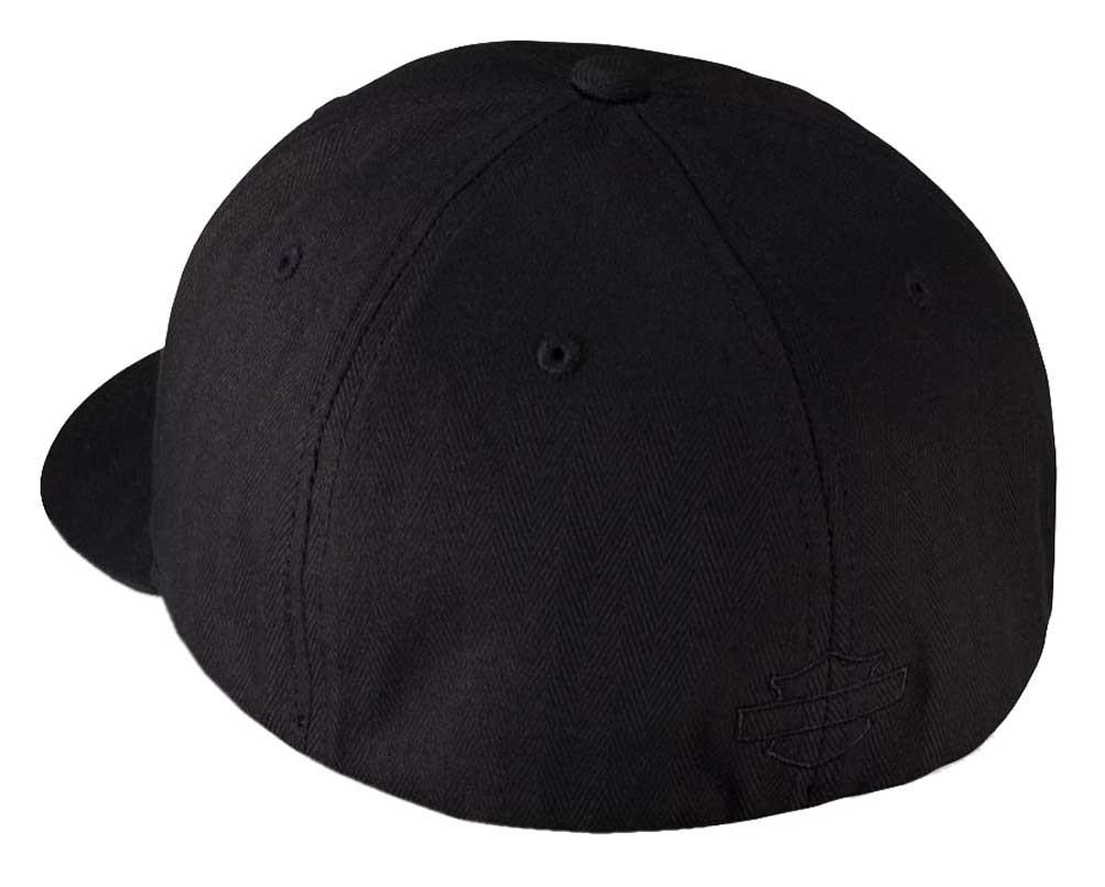 91a9d25e273 Harley-Davidson® Men s Rubber Skull Patch Stretch Cap Hat