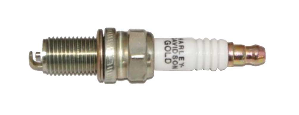 Harley-Davidson® Gold Spark Plug, Special Thread & Shell Coating 32331-05