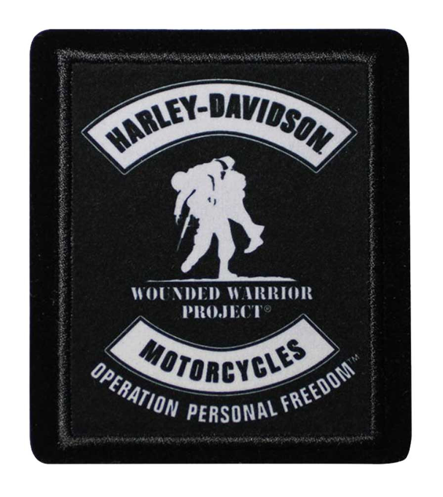 12b556196c6 Harley-Davidson® Wounded Warrior Project Embroidered Patch
