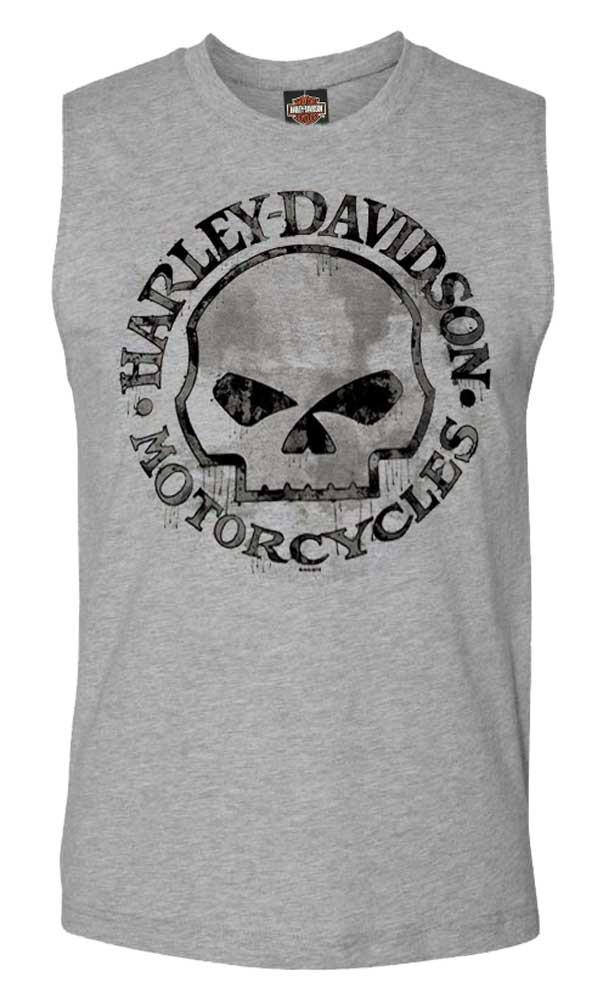 97af719d8a7653 ... Harley-Davidson Men s Willie G Skull Muscle Tank Top. See 1 more picture