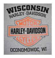 Harley-Davidson Men's Willie G Skull Muscle Tank Top Sleeveless Tee 30296650 - Wisconsin Harley-Davidson