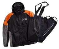 Harley-Davidson Men's Rain Suit, Rutledge Hi-Vis Suit, Black 98372-15VM - Wisconsin Harley-Davidson