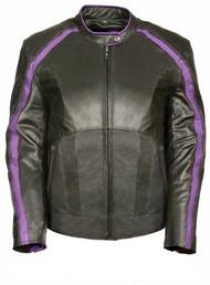 Milwaukee Leather Women's Jacket w/ Stud & Wings Detailing ML1952 - Wisconsin Harley-Davidson