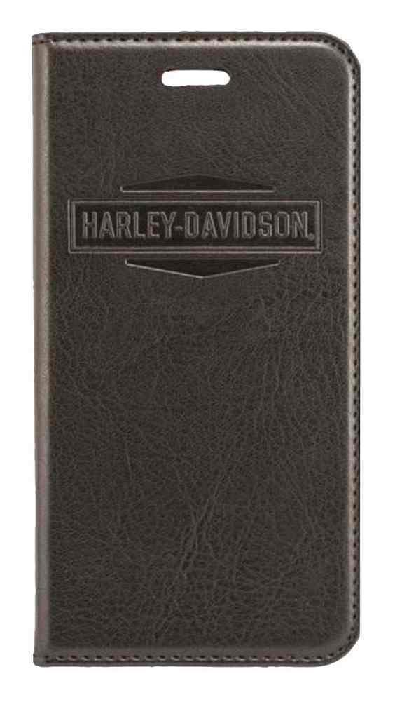 new style 5d09d e49b0 Harley-Davidson® iPhone 6 Plus Phone Case Folio, Magnetic Closure, Black  7799
