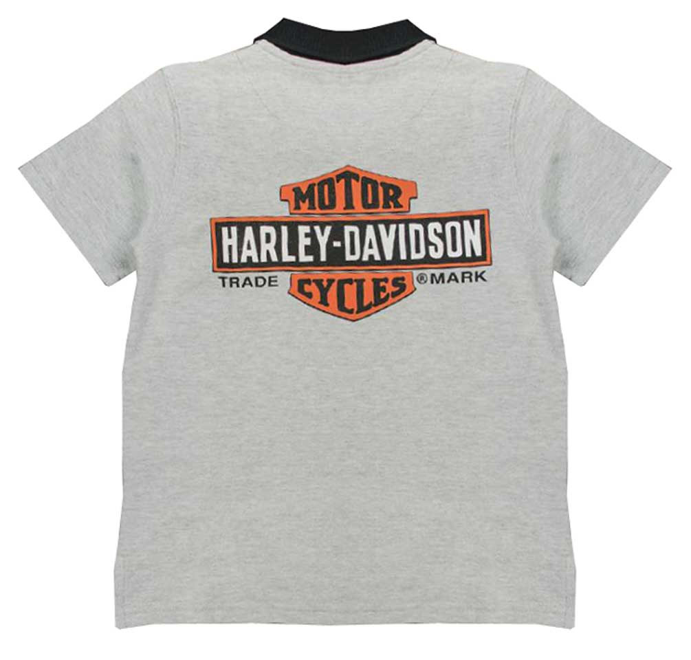 ba731c97 Harley-Davidson® Little Boys' Bar & Shield Short Sleeve Pique Polo ...