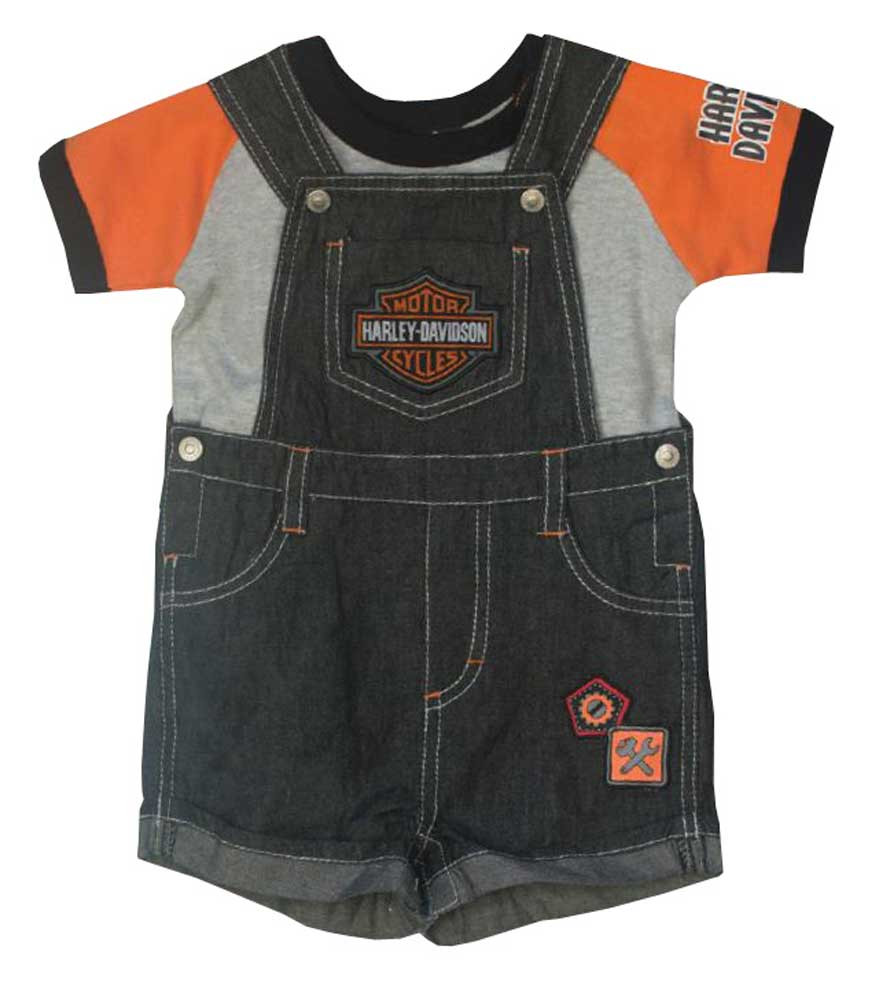 aedd2a0c3 ... Harley-Davidson Little Boys' 2 Piece Denim Overall. See 1 more picture