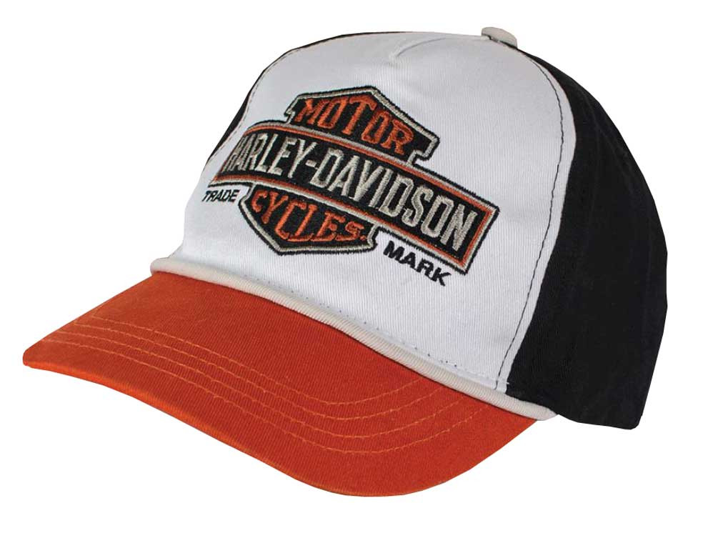 Harley-Davidson Little Boys  Embroidered Bar   Shield Baseball Cap 7280619  - Wisconsin Harley 1deedcf16933