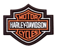 Harley-Davidson Bar & Shield Patch, 9-1/4'' W x 7-11/16'' H EMB302386 - Wisconsin Harley-Davidson