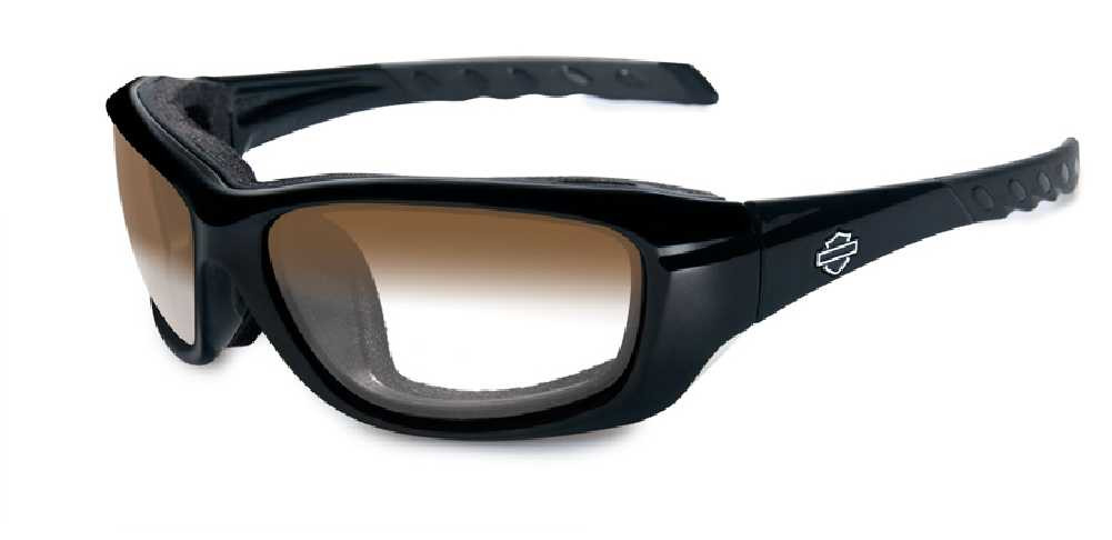 24b519dfb3 Harley-Davidson Gravity LA Brown Lens w  Gloss Black Frame Sunglasses  HDGRA08 - Wisconsin