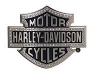 Harley-Davidson Women's Belt Buckle Lineage Bling Bar & Shield Silver HDWBU10635 - Wisconsin Harley-Davidson