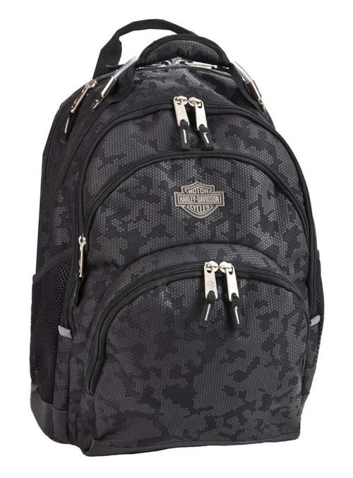 Harley-Davidson Bar & Shield Steel Backpack, High-Density Nightvision 99220 - Wisconsin Harley-Davidson
